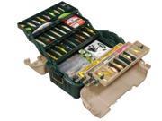 Plano Hip Roof Box 6-Tray Green/Sand 8616-00