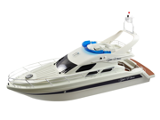 AWESOME REMOTE CONTROL BOAT HOBBY ENGINE SAINT PRINCESS YACHT