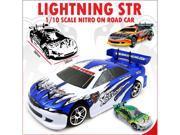 Lightning STR Car 1/10 Scale Nitro (With 2.4GHz Radio)