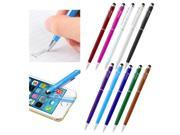 eForCity 2-in-1 Stylus Ballpoint Touch Screen Pen For Apple iPad iPhone 6 6+ iPod Samsung Galaxy S6 S5 LG Cell Tablet