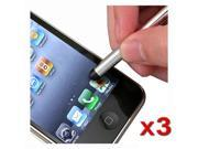 3x NEW Stylus Touch PEN Compatible With iPad® iPod touch® iPhone® 3GS iPhone® 4S - AT&T, Sprint, Version 16GB 32GB 64GB