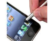 10Pcs Sliver Metal Touch Screen Stylus compatible with Xoom Playbook iPad® iPhone®