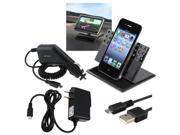 AC+Car Charger+USB+Holder compatible with Motorola Droid 3 Verizon