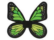 Wings Butterfly Satin Ad Green