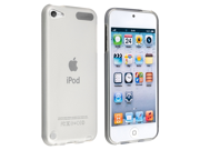 eForCity TPU Rubber Skin Case compatible with Apple® iPod Touch 5 / 5th / 5 th / Gen5 / 5 Gen / 5 Generation, Frost Clear White