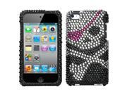 MYBAT Skull Diamante Protector Cover for Apple® iPod touch® (4th generation)