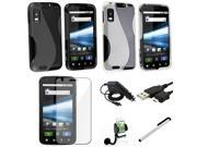7 Accessory Charger Bundle Phone Holder Mount compatible with Motorola Atrix 4G MB860 Insten