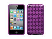 MYBAT Purple Argyle Candy Skin Cover for Apple® iPod touch® (4th generation)