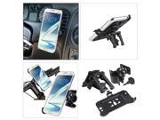eForCity Car Air Vent Phone Holder with extra Bicycle Mount compatible with Samsung Galaxy Note 2 II N7100