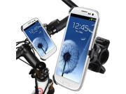 eForCity Bicycle Phone Holder Mount compatible with Samsung i9300 Galaxy S3 S III S 3
