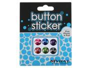 MYBAT Button Stickers-Set 018 Compatible With Apple® iPod touch , iPhone , iPad