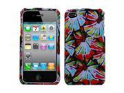 MYBAT Flower Power Phone Protector Cover  for APPLE iPhone 4S/4