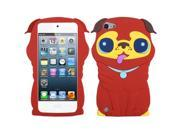 MYBAT Red Pekinese Pastel Skin Cover for Apple® iPod touch® (5th generation)