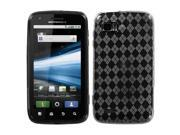 MYBAT Smoke Argyle Pane Candy Skin Cover for MOTOROLA MB865 (Atrix 2)