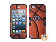 MYBAT Basketball-Sports Collection/Black TUFF Hybrid Phone Protector Cover Compatible With Apple® : iPod touch (5th generation)