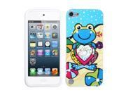 MYBAT iPod touch (5th generation) Blue Lotus Frog Skin Cover