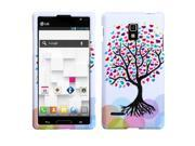 MYBAT Love Tree Phone Protector Cover Compatible With LG: P769 (Optimus L9)