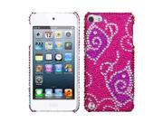 MYBAT Tattoo Butterfly Diamante Back Protector Cover for Apple® iPod touch® (5th generation)