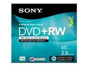 SONY 3DPW60DSR2HC 2.8gb camcorder double-sided dvd-rw