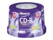 Memorex 04563 80-Minute Cd-Rs (50-Ct Spindle)