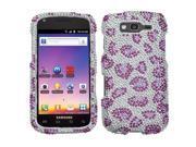 MYBAT Skin Diamante Protector Case compatible with Samsung© T769 (Galaxy S Blaze 4G), Purple Leopard