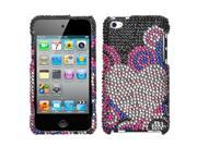 MYBAT Bubble Hearts Diamante Protector Cover for Apple® iPod touch® (4th generation)