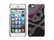 MYBAT Skull Diamante Back Protector Cover for Apple® iPod touch® (5th generation)