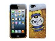 MYBAT Phone Protector Case compatible with Apple® iPhone 5 5S, Piss drunk