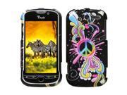 MYBAT Peace Pop Phone Protector Cover for HTC myTouch 4G