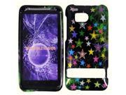 HRW for HTC Thunderbolt 6400 / Incredible HD Design Cover - Multistar