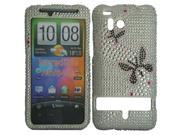 HRW for HTC Thunderbolt 6400 / Incredible HD Full Diamond Cover - Butterfly