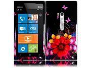 HRW for Nokia Lumia 900 Design Cover - Delusional Flower