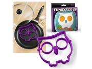 Kitchen Tools Pancakes Eggs Ring Art Shaped Mold Silicone FRED & FRIENDS Funny Side Up Owl Egg Corral