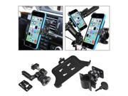 eForCity Swivel Car Air Vent Phone Holder with extra Bicycle Mount Compatible with Apple iPhone 5C