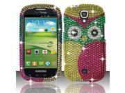 BJ For Samsung Stratosphere 2 i415 Full Diamond Design Case Cover - Owl