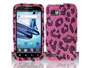 BJ For Motorola Atrix 2 MB865 Full Diamond Design Case Cover