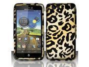 BJ For Motorola Atrix 3 HD MB886 Rubberized Hard Design Case Cover - Cheetah