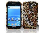 BJ For Samsung Hercules T989 Galaxy S2 Full Diamond Design Case Cover - Cheetah