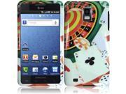 HRW For Samsung i997 Infuse 4G Design Cover -Poker