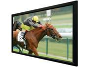 "SIMA LUM-110VX Fixed Frame Projection Screens, 110"" Flat"