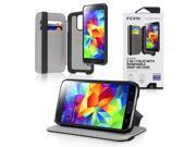 Incipio Watson Wallet Folio for Samsung Galaxy S5 - Retail Packaging - Black