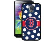 Coveroo 721-6690-BK-FBC Samsung (R ) Galaxy S (R ) 5 Thinshield Case (Boston Red Sox (TM ) Polka Dots )