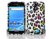 BJ For Samsung Hercules T989 Galaxy S2 (T-Mobile) Rubberized Design Cover - Colorful Leopard