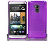 BJ For HTC One Max T6 - TPU Cover - Purple TPU