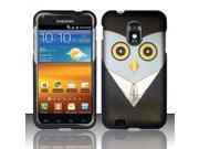 BJ For Samsung Epic Touch 4G D710 Galaxy S2 - Rubberized Design Cover - Mr. Owl
