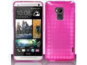 BJ For HTC One Max T6 - TPU Cover - Hot Pink TPU