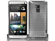BJ For HTC One Max T6 - TPU Cover - Smoke TPU