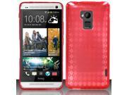 BJ For HTC One Max T6 - TPU Cover - Red TPU
