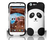 For BLU Life One L120 - Rubberized Design Cover - Panda Bear