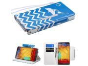 Jumping dolphin MyJacket Wallet (36J) For Samsung Galaxy Note 3
